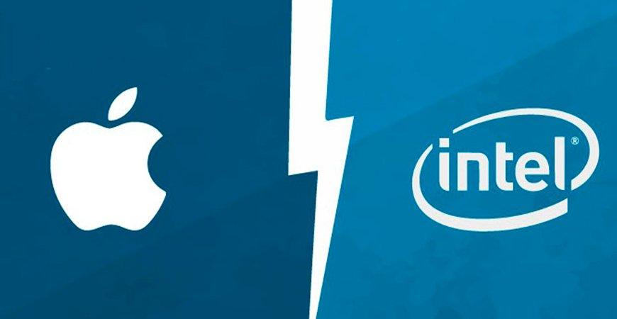 В ближайшие полтора года Apple откажется от сотрудничества с Intel