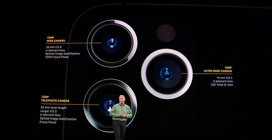 В будущих iPhone могут встроить ИИ в объективы камер