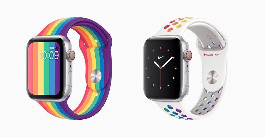 Apple выпустила новые ремешки, в том числе Nike Edition