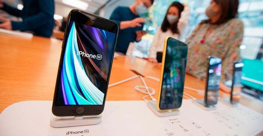 iPhone SE увеличил продажи Apple в Китае