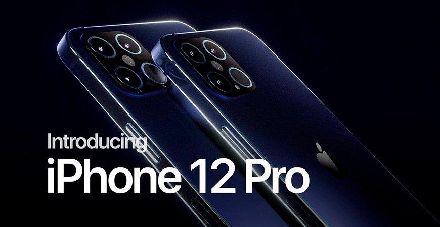 Дизайнер показал видео с концептом iPhone 12