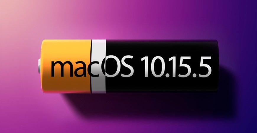 Как отключить новую функцию управления состоянием аккумулятора в macOS Catalina 10.15.5
