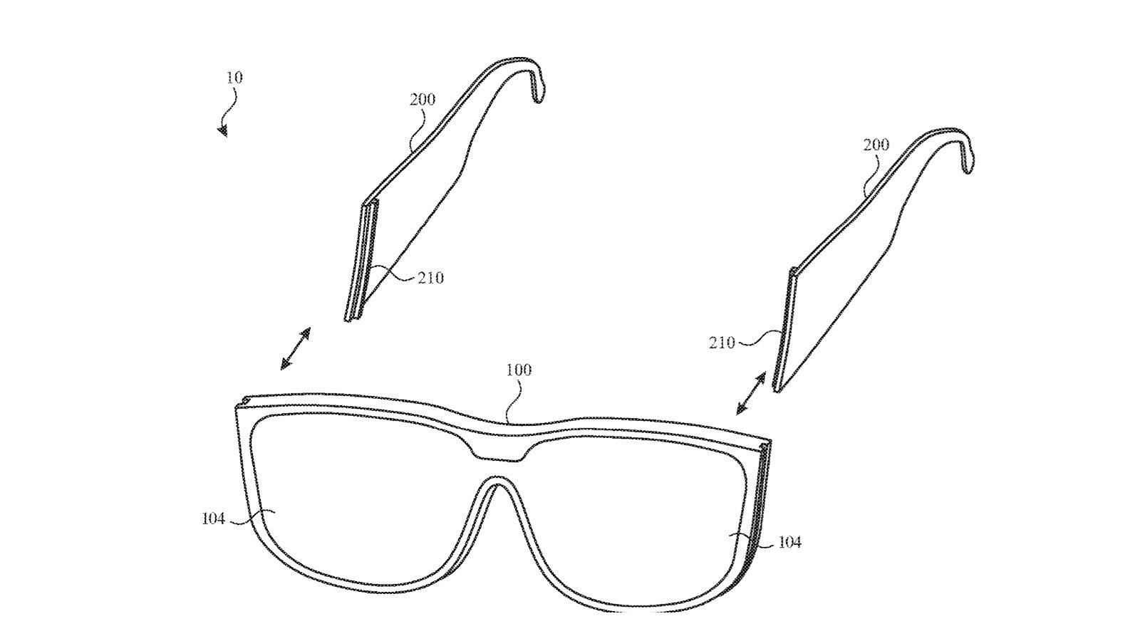 Будущие очки Apple могут выйти со съемными, взаимозаменяемыми дужками