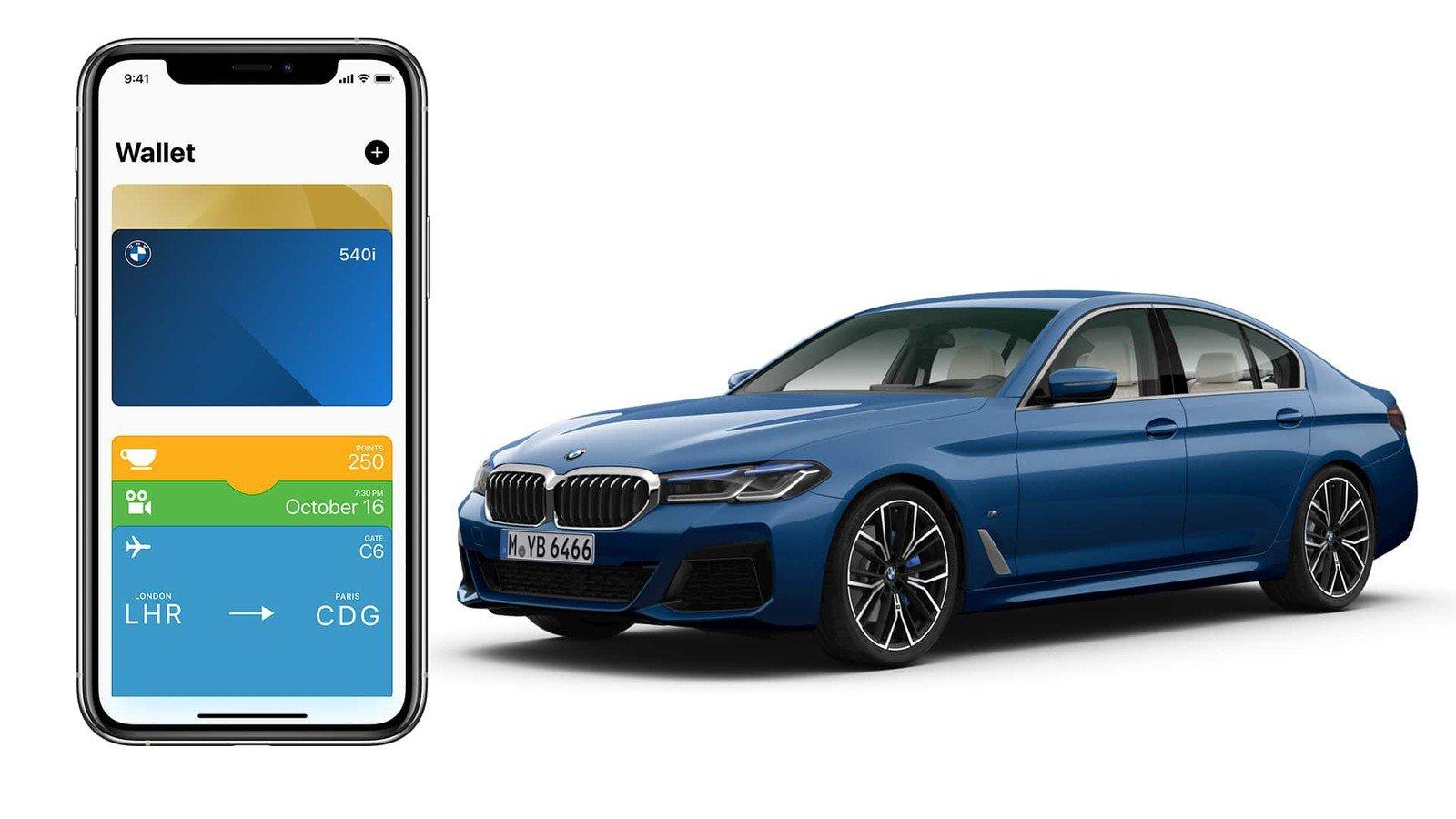 В обновлении приложения BMW Connected добавлена поддержка цифровых автомобильных ключей