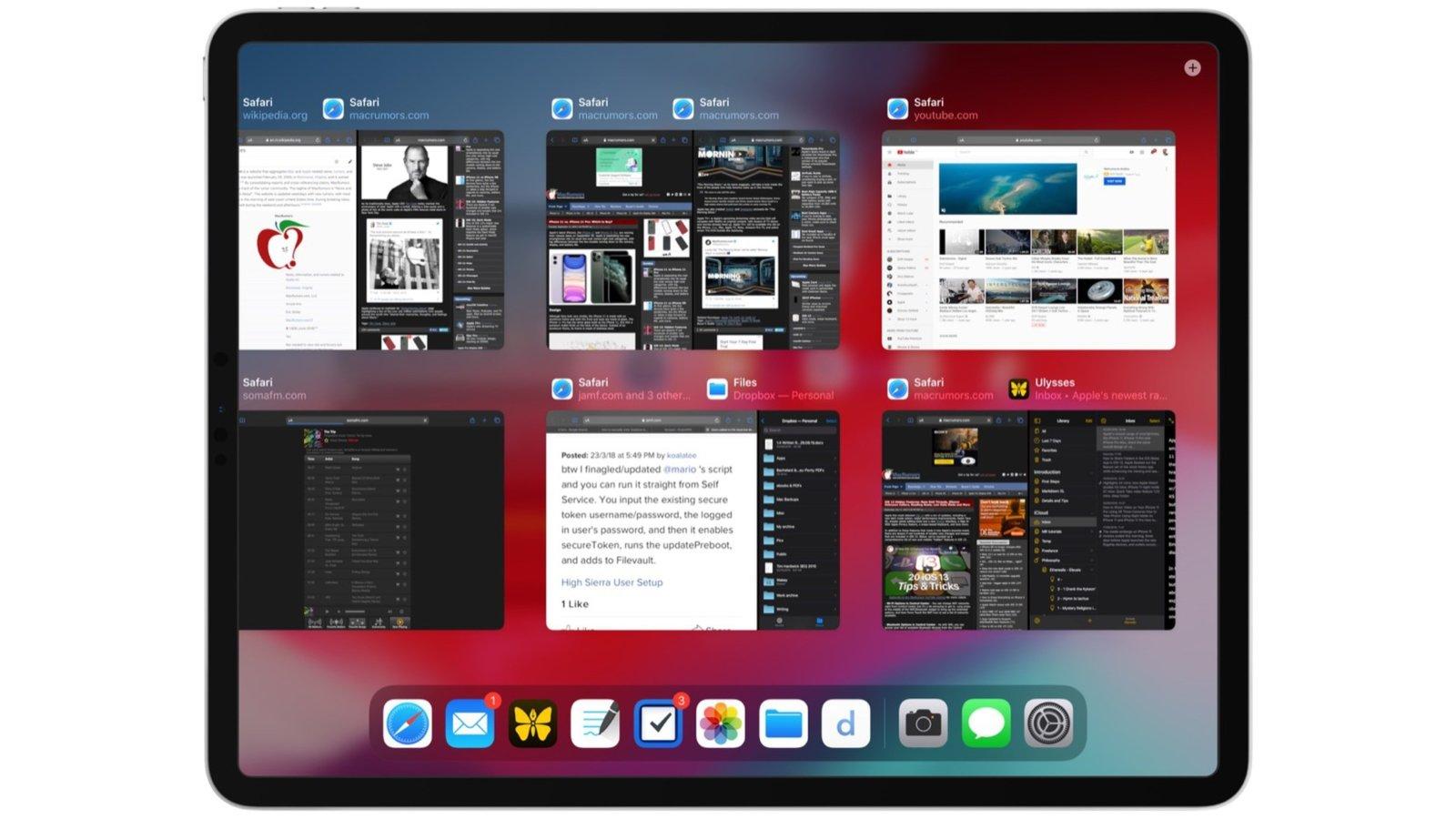 Как пользоваться Expose в iPadOS на Apple iPad?