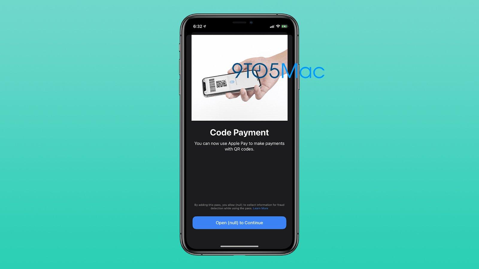В iOS 14 на Apple iPhone можно будет платить при помощи QR-кодов