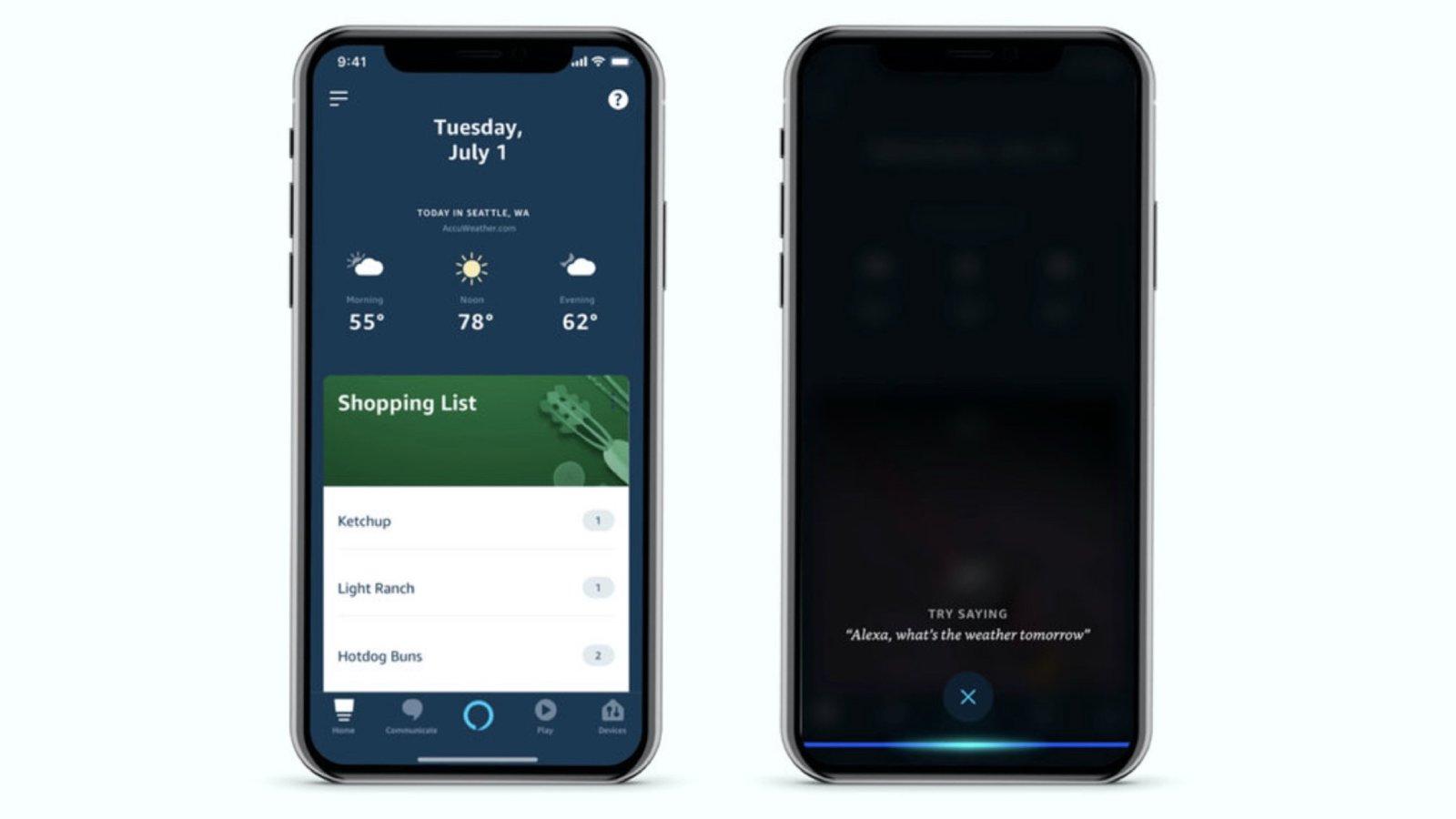 Приложение Alexa от Amazon получит функцию голосовой активации