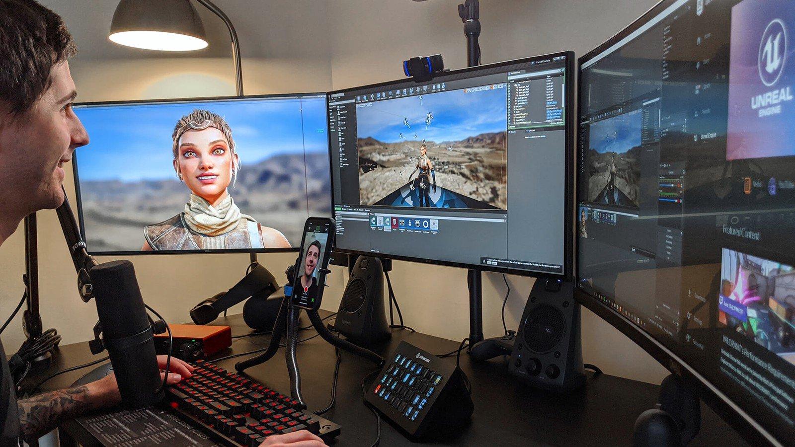 Приложение Live Link Face от Epic использует ARKit и камеру TrueDepth на iPhone для захвата мимики лица