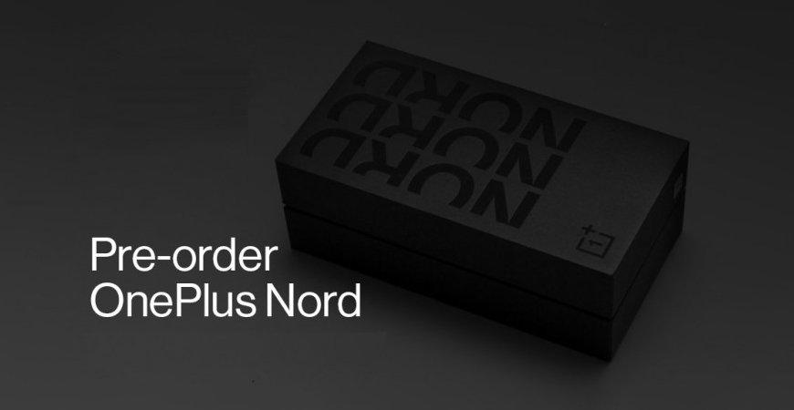 Стартовали предварительные заказы на OnePlus Nord в Индии и Европе