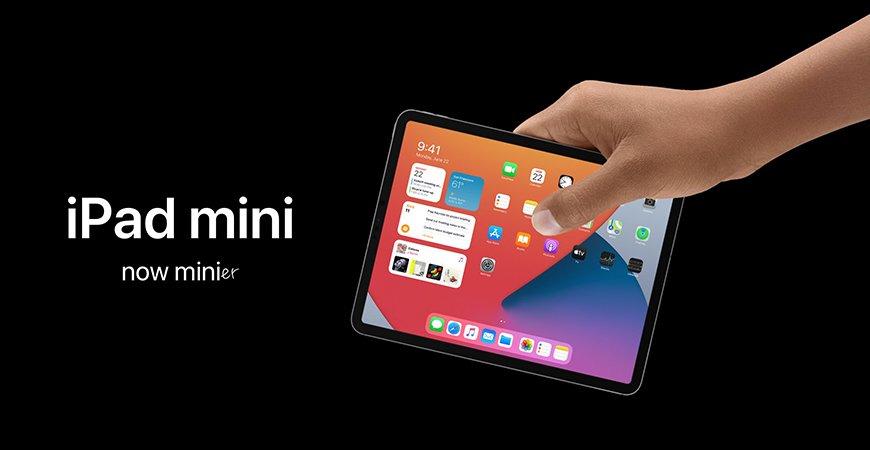 Концепт обновленного iPad mini в дизайне iPad Pro с Face ID