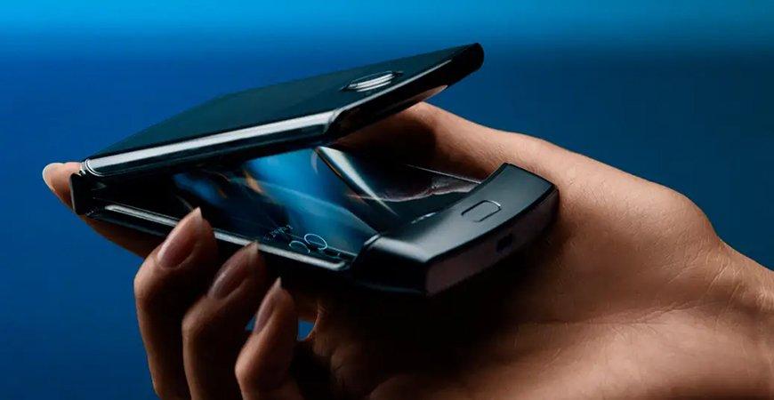 Вышли первые фотографии нового Motorola Razr 2020