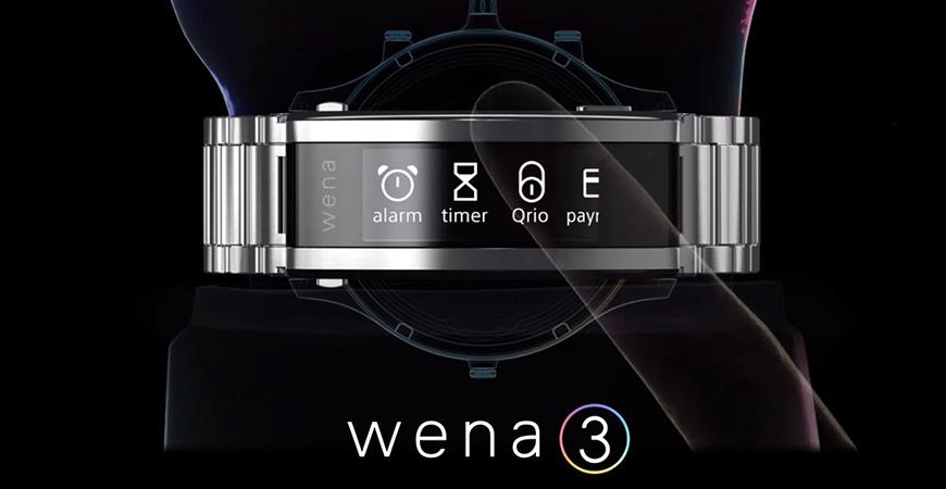 Умный ремешок Sony Wena 3 с датчиком пульса и поддержкой Alexa