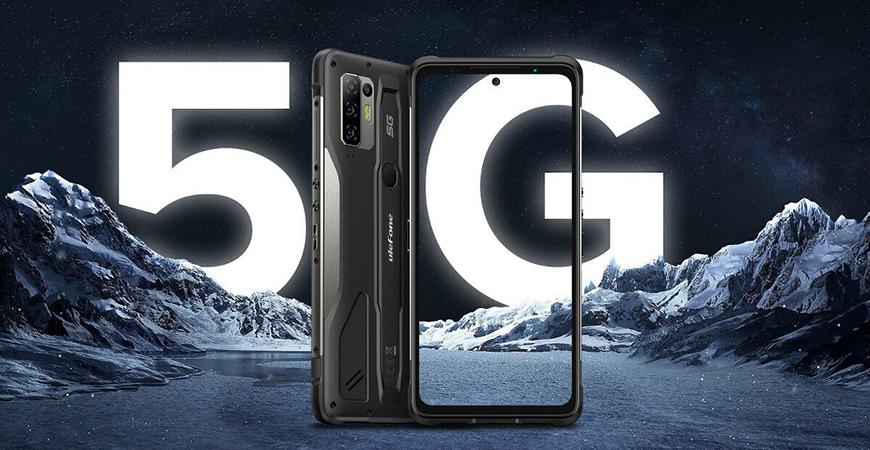 Ulefone Armor 10 5G - первый защищенный смартфон с доступом к сети пятого поколения