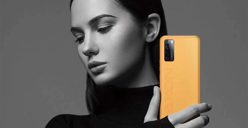 ZTE представила элитный смартфон Axon 20 5G Extreme Edition