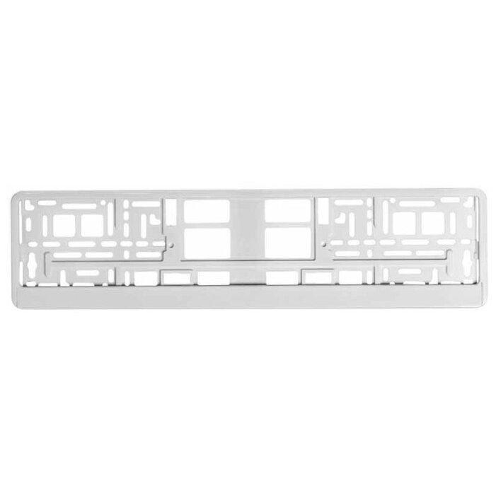 Рамка для номера Airline Белая (AFC-04)