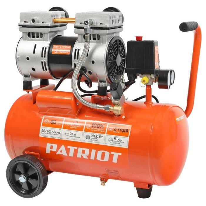 безмасляный PATRIOT WO 24-260S, 24 л, 1.5 кВт