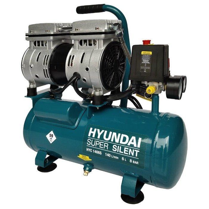 масляный Hyundai HYC 1406S, 6 л, 0.75 кВт