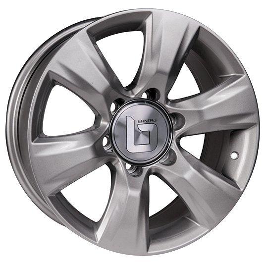 BANTAJ BJ1805 7.5x17/6x139.7 D106.1 ET25 Silver