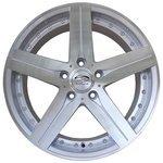 Sakura Wheels 821 7.5x17/5x114.3 D73.1 ET35 Silver