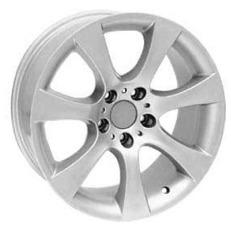 For Wheels BM 201f 8x17/5x120 D74.1 ET20 Silver