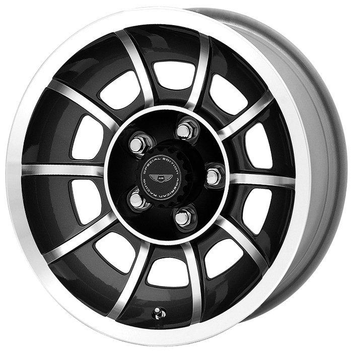 American Racing VN47 Vector 8.5x15/5x114.3 ET6 Black
