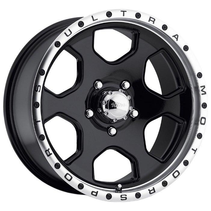 Ultra Wheel 175 Rogue 8x15/5x139.7 D108 ET-19 Gloss Black