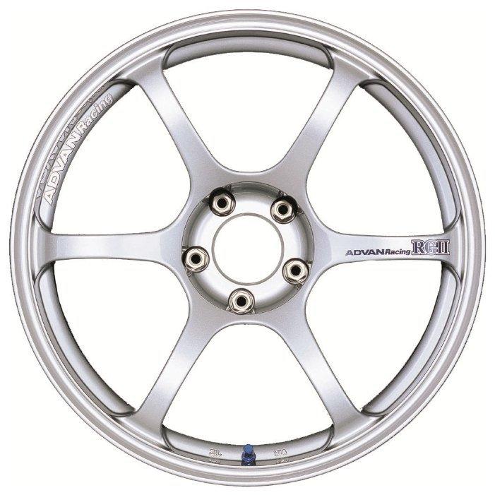 Advan RG2 8x18/5x100 D63 ET45 Silver
