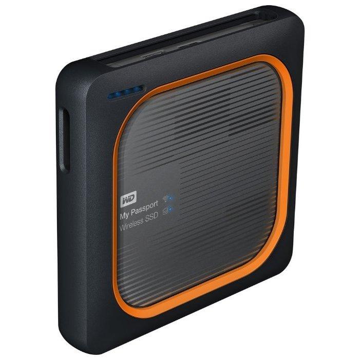 Твердотельный накопитель Western Digital My Passport Wireless SSD 1 TB (WDBAMJ0010BGY)
