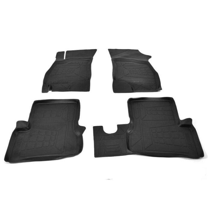 Комплект ковриков AVD Tuning ADRPLR302 Hyundai Accent 4 шт