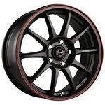 Racing Wheels H-422 6.5x15/5x105 D56.6 ET35 BK-LRD