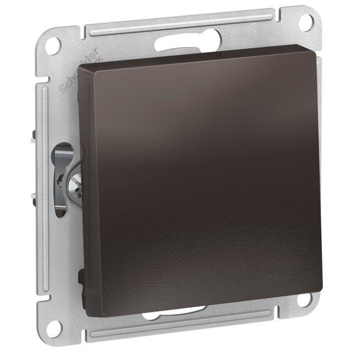 Выключатель 1-полюсный Schneider Electric AtlasDesign ATN000611,10А, коричневый