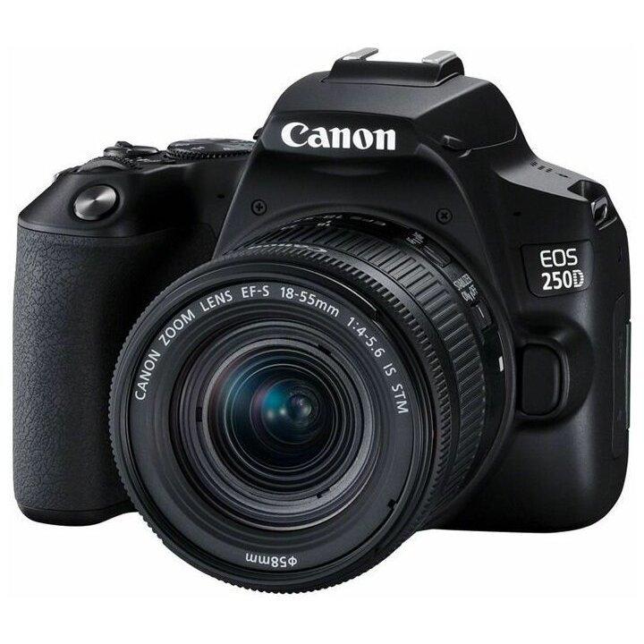 Canon EOS 250D kit 18-55 IS STM Black