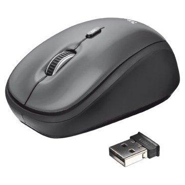 Trust Yvi Wireless Mini Mouse Black USB
