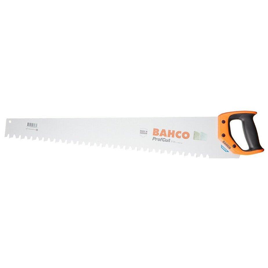 BAHCO Ножовка по газобетону Bahco 620 мм средний зуб 17 напаек