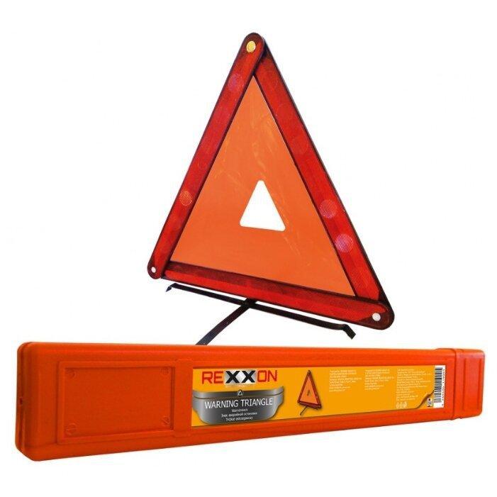 Знак аварийной остановки Rexxon в пенале