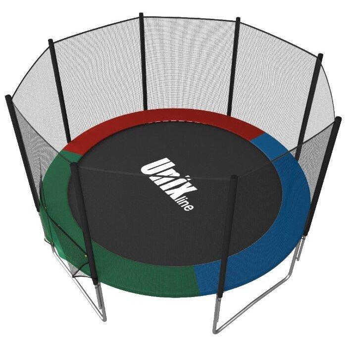 Каркасный батут Unix Line 6ft Simple (outside) 183х183х215 см фото, картинка slide4