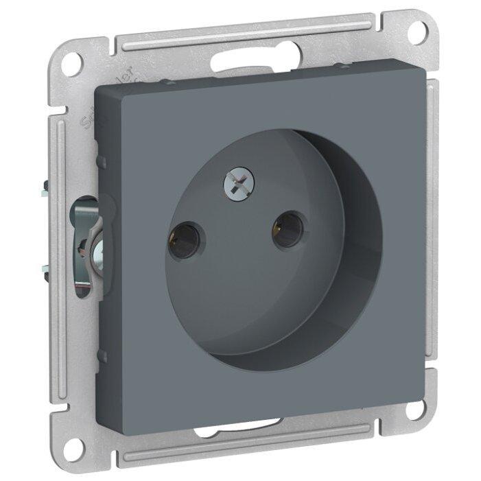 Розетка Schneider Electric AtlasDesign ATN000741,16А, серый