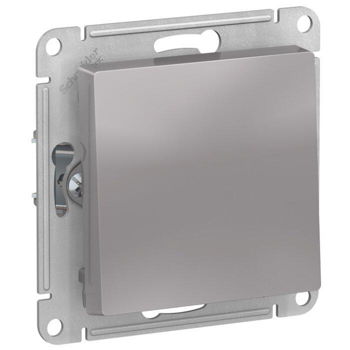 Выключатель 1-полюсный Schneider Electric AtlasDesign ATN000311,10А, алюминиевый