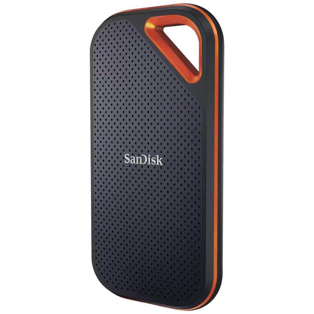 SSD накопитель SanDisk Extreme PRO Portable SSD V2 2 ТБ (SDSSDE81-2T00-G25)