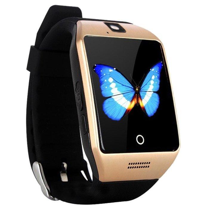 Smart watch q18s – современные смарт часы, характерной особенностью которых является изогнутый дисплей.