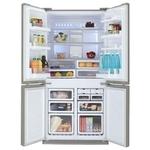 Холодильник Sharp SJ-FP810VST нержавеющая сталь / отзывы владельцев, характеристики, цены, где купить
