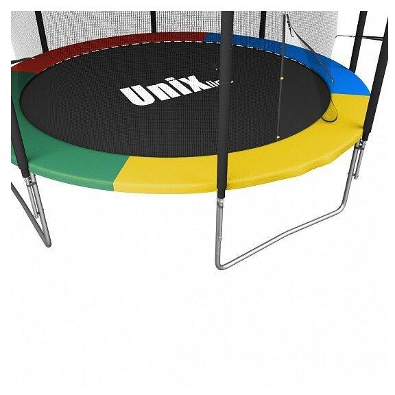 Каркасный батут Unix Line 10ft Simple (inside) 305х305х241 см фото, картинка slide10
