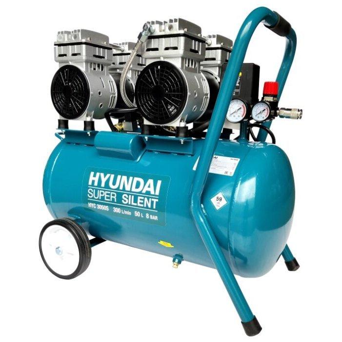 масляный Hyundai HYC 3050S, 50 л, 2 кВт