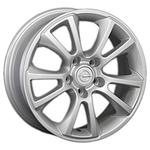 Aleks F0707 6.5x16/5x110 D65.1 ET37 Silver