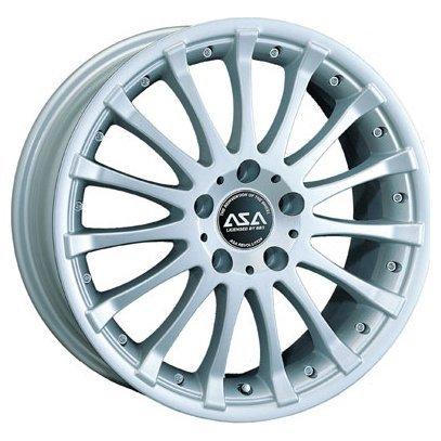 ASA Wheels JH5 7x15/4x100 D73 ET40 Silver