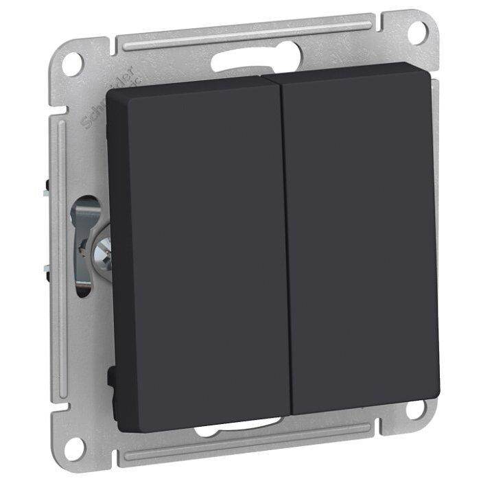 Переключатель 2-х полюсный Schneider Electric AtlasDesign ATN001065,10А, антрацит
