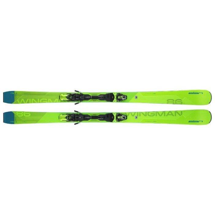 Горные лыжи Elan Wingman 86 CTi FusionX с креплениями EMX 12.0 GW Fusion X (19/20) / отзывы владельцев, характеристики, цены, где купить