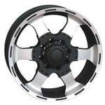 RS Wheels RSL 6037 8x17/8x165.1 D116.7 ET20 MCB