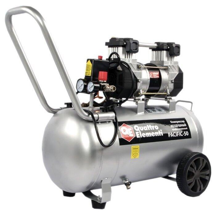 безмасляный Quattro Elementi PACIFIC-50, 50 л, 1.5 кВт