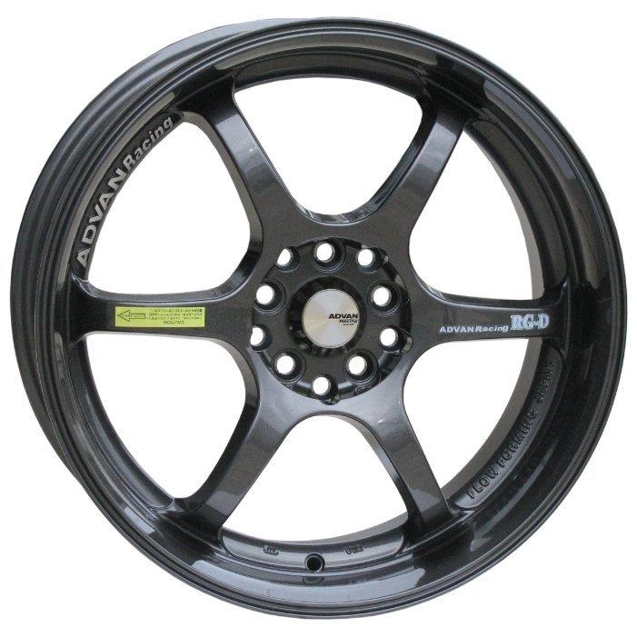 Advan RGD 6.5x15/5x114.3 D69.1 ET40 Black